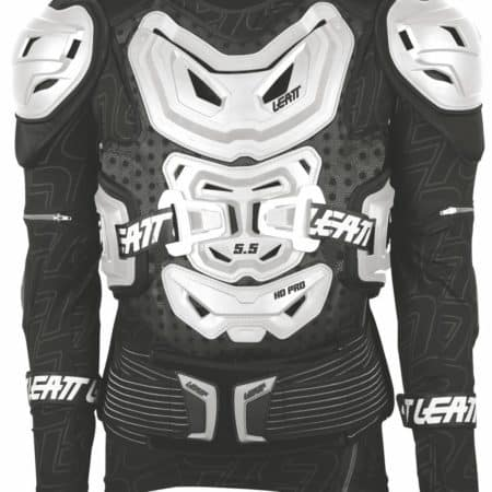 Gilet de protection motocross avec manches LEATT Body Protector 5.5