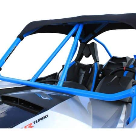 Renfort arceau avant DRAGONFIRE bleu Can-Am Maverick
