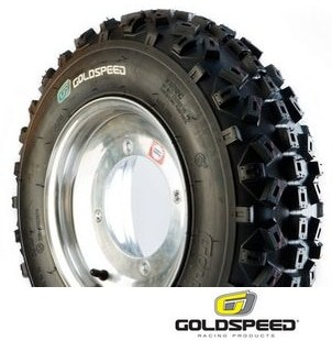 Pneu quad avant Goldspeed SX Bleu 20 6 10
