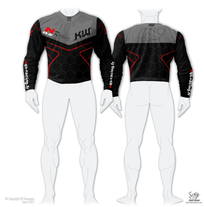 Maillot Cross NQS Racing