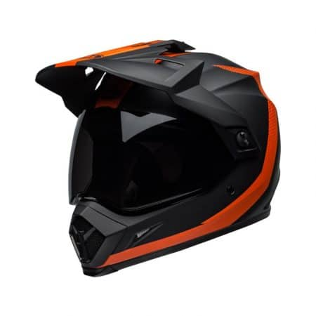 Casque cross BELL MX-9 Noir et Orange