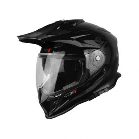 Casque enduro JUST1 J34 Noir brillant