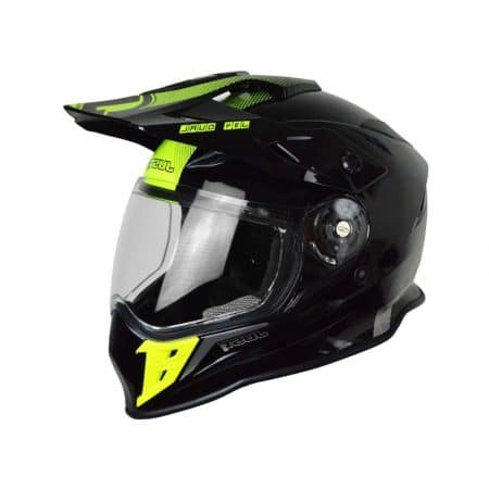 Casque JUST1 J34 Adventure Noir et Jaune