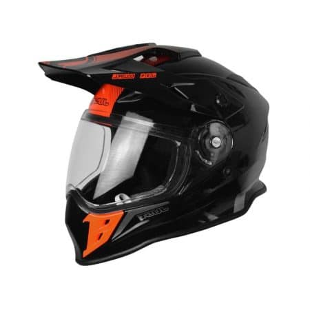 Casque off-road JUST1 J34 Noir et rouge