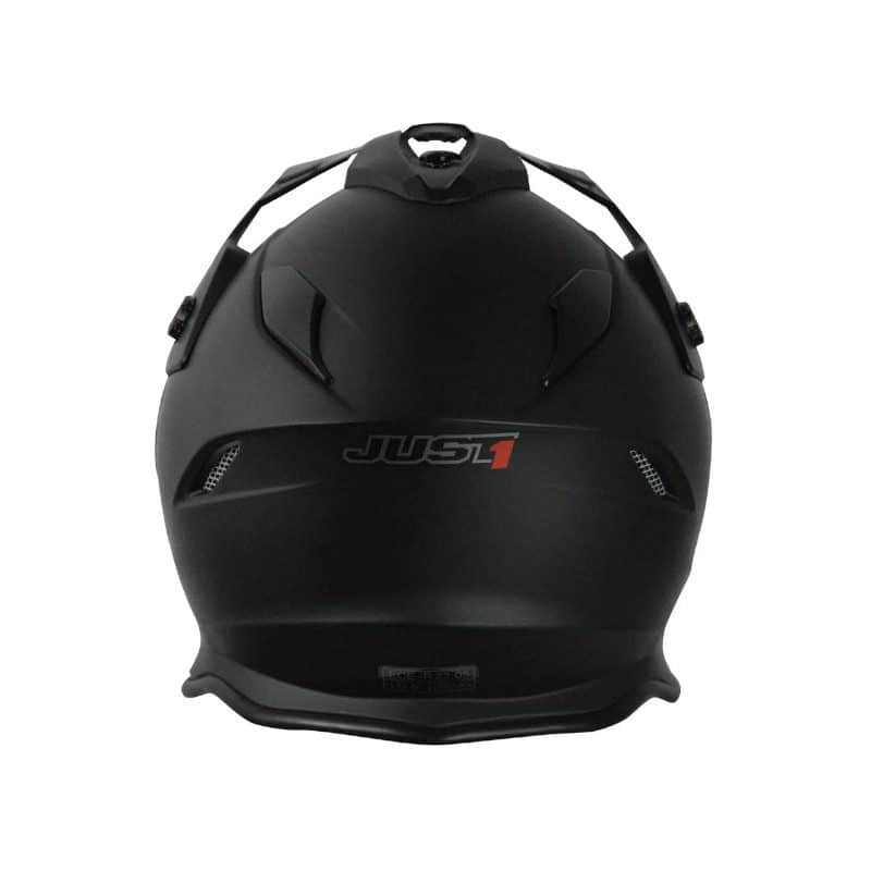 Casque cross JUST1 Adventure Noir mat