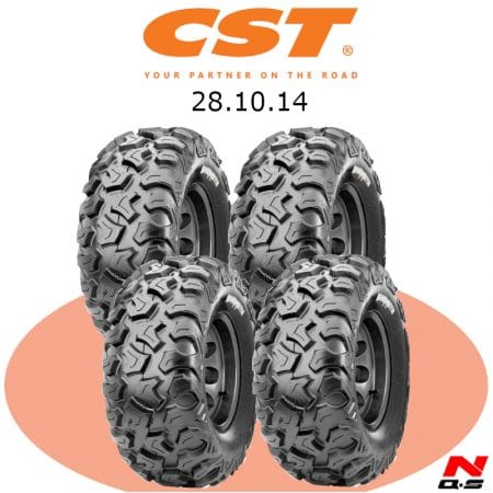 Pack pneu off-road CST 28X10X14