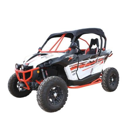 Toit en toile DRAGONFIRE noir Can-Am Maverick X DS